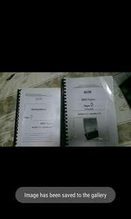 IGCSE physics paper 3 pyp
