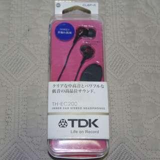 TDK TH-EC200 耳道式繽紛多彩耳機