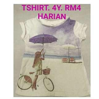 4y tshirt