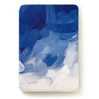 藍油彩IPad套
