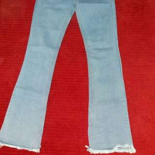 jeans cutbray rawis