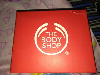The body shop lotion and shower gel