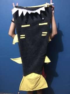 Shark tail blanket for boys