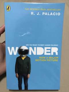 Wonder by R J Palacio (The International Bestseller)
