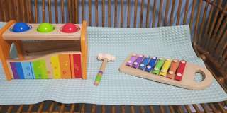 Wooden Toys - HAPE pound and tap bench