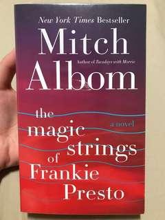 The Magic Strings of Frankie Presto by Mitch Albom (New York Times Bestseller)