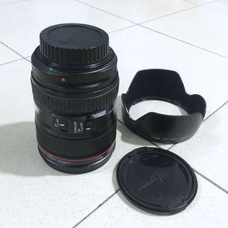 PERFECT CONDITION! CANON 24-105MM F4 EF IS USM Lens