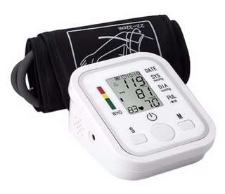 [READY STOCK] Blood Pressure Monitor + FREE DELIVERY