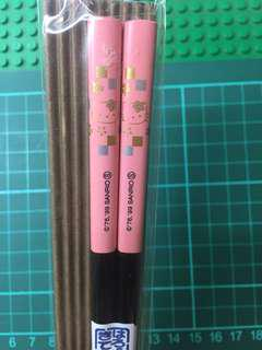 Hello Kitty Chopstick 筷子 Made in Japan