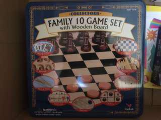 10 in 1 family games set