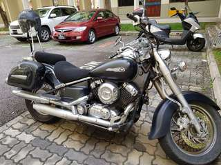 Dragstar 400cc or spare parts for sale