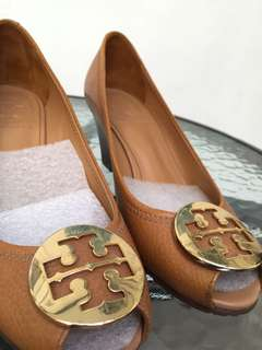 tory burch wedges preloved