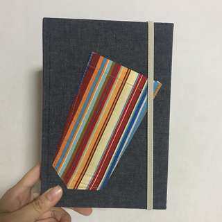 Handmade A5 notebook