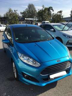 Full service record 2013 Ford Fiesta 1.5A
