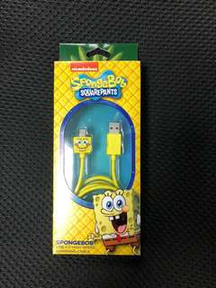 SpongeBob SquarePants USB 2.0 High Speed Charging Cable