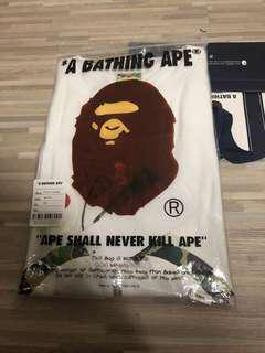 Bape ABC Camo Shark Tee