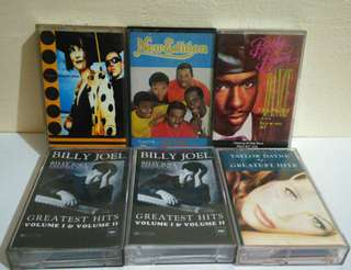 Cassette Tapes / Lot sale