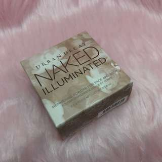Urban Decay TRAVEL-SIZE NAKED ILLUMINATED Shimmering Powder For Face And Body