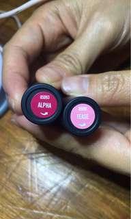 Bare Minerals Mini Lipsticks + FREE L'Occitane mini perfume