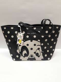 Polkadot Tote Bag Disney New