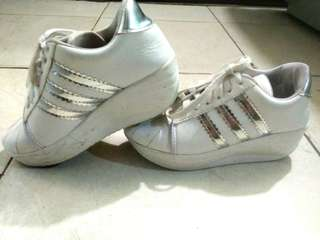 Sneakers Silver White