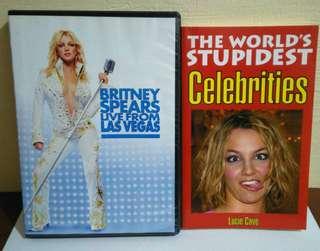 Britney Spears DVD + Book