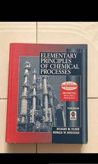 CN1111 Elementary Principles of Chemical Processes