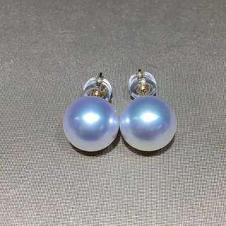 澳洲白珍珠耳環