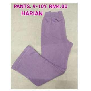 9-10y pants