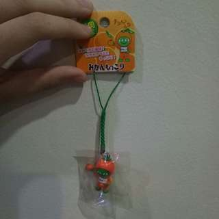 Keychain orange japan