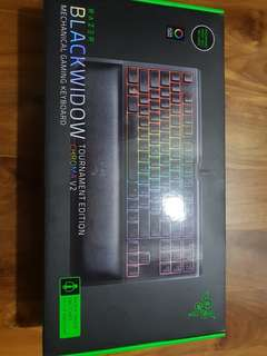 Razer blackwidow chroma v2 comletition edition(brand new)
