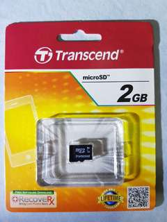 2GB MicroSD. FREE DELIVERY within SG