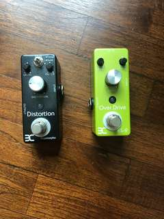 ENO overdrive & distortion pedal