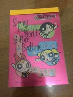 飛天小女警 (The Powerpuff girls) notebook