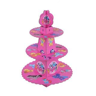 MLP My Little Pony Party supplies - cupcake stand / dessert stand / party deco