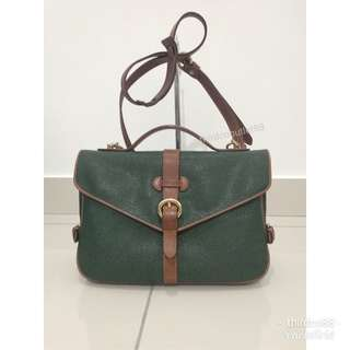 Authentic Toscano mirror face slingbag