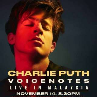 Charlie Puth ticketing service