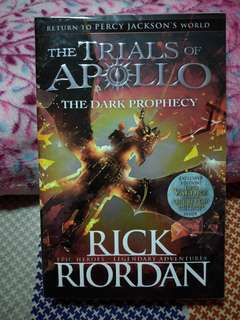The Trials Of Apollo The Dark Prophecy Book