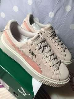 🚚 Puma增高鞋 粉
