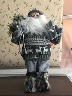 Santa figure decor