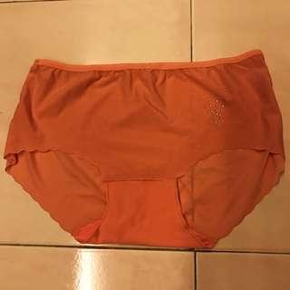 Preloved pink silk panty