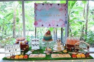 Customised Dessert Table