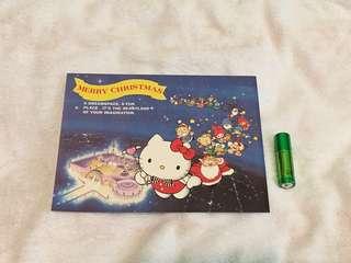 Sanrio puroland 聖誕咭 (絕版)