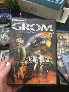 GROM... Terror in Tibet computer game