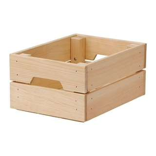 Birthday Cake Wooden Crate Stand