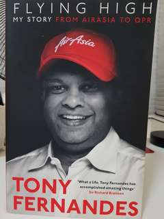 Tony Fernandes Flying High