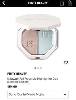 (-30%) Fenty Limited Edition Killawatt Foil Freestyle highlighter duo