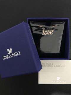 🚚 Swarovski Emotion Love Necklace