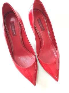 Dolce & gabbana red heels