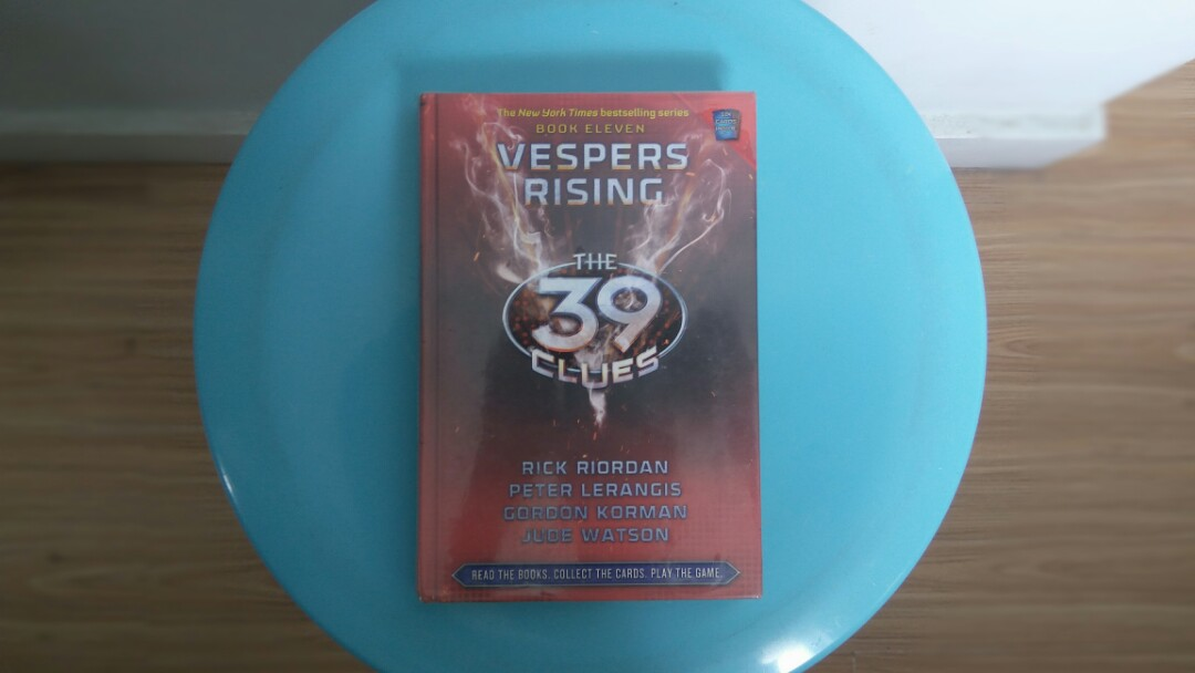 The 39 clues vesper rising books books on carousell photo photo photo fandeluxe Gallery